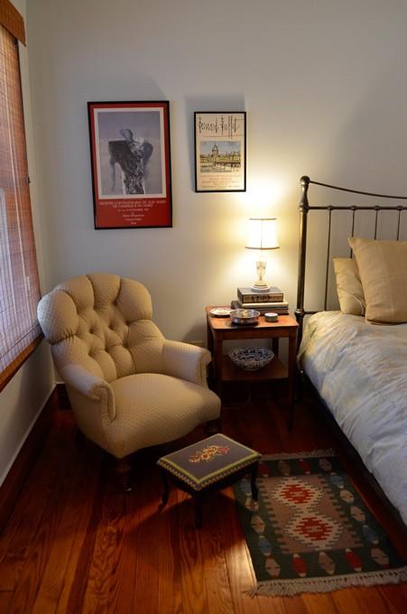 Reading Corner in Master Bedroom