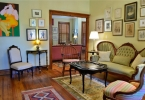 Front Parlor — Extensive Art Collection