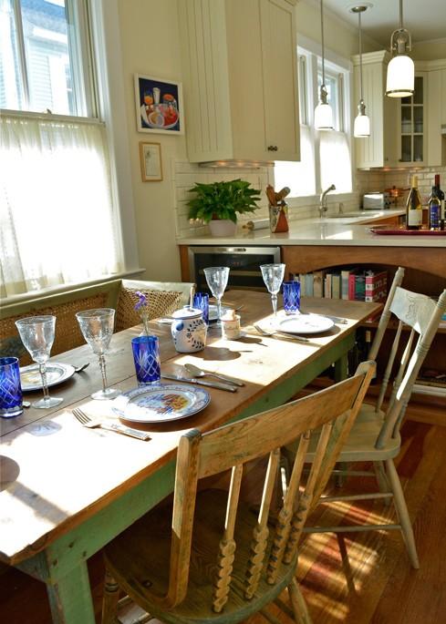 New Kitchen — Breakfast Nook