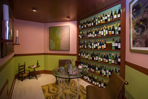 Wine Tasting Room with Children's Drinking Corner