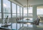 Floridian Views Surround The Dramatic Dining Area